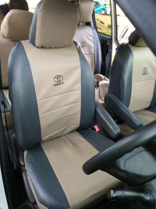 Puffy car seat covers image 5