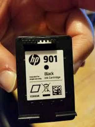 901 inkjet cartridge black only  CC653AN image 1