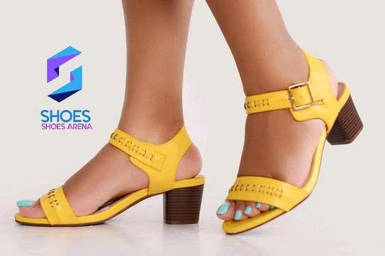 Quality Chunky Heels image 3