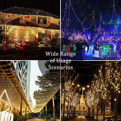 Christmas, Balcony, Pergola, Railings, Porch and Party Decorations (Multicolor) image 1