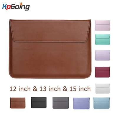 New Leather Sleeve Protector Bag For Apple Macbook Air Pro Retina 13 - 14 inches Laptop Cover