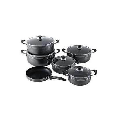 Dessini Non-Stick Cooking Pots Cookware set - 10pcs Dessini Die cast Set. image 1