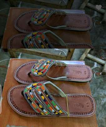 Leather maasai sandals image 1