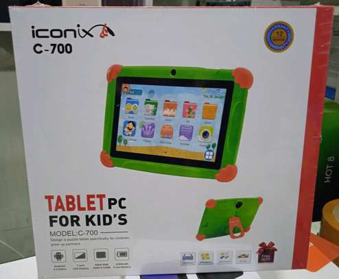 Iconix Kids Tablets, C700 New 8GB storage, 7 inch with Wifi Support+Delivery image 1