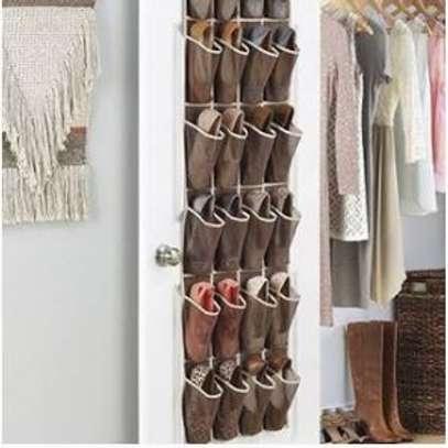 Over the door pocket Organiser/shoe pockets image 1