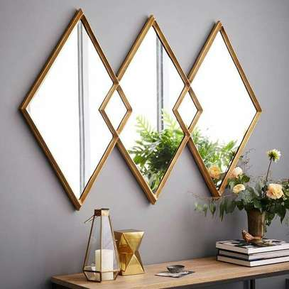 beveled mirrors image 1