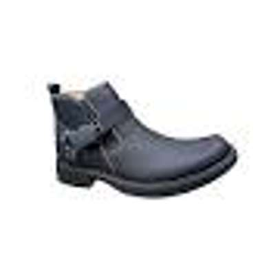 Black  Urban Look Men's Official And Casual Boots image 1