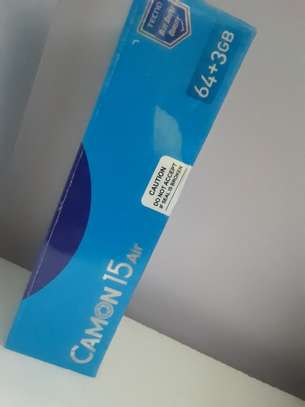 "Tecno Camon 15 Air 6.6"" Inch - 3GB RAM- 64GB ROM-- 4G , image 2"