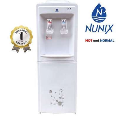 Nunix Hot And Normal Free Standing Water Dispenser-White image 2