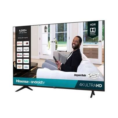 Hisense 55 inches Android UHD-4K Frameless Smart Digital Tvs 55A72KEN image 1