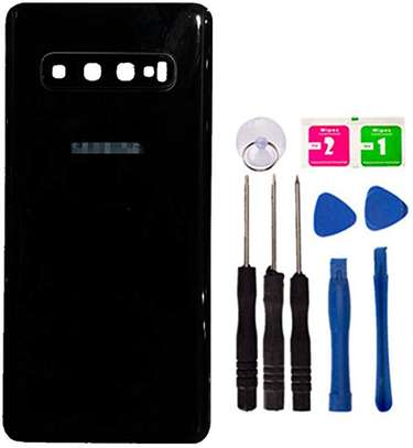 Battery Cover Replacement Back Door Housing Case For Samsung Galaxy S10 Plus S10e S10 image 2