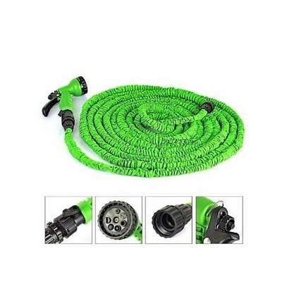 30mtrs 100FT Flexible Expandable Garden Magic Water Hose Pipe – Green