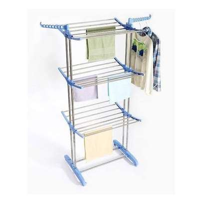 Vertical Outdoor Cloth Drying Rack image 3