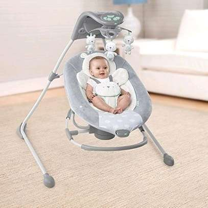 2-in-1 ingenuity baby electric swing