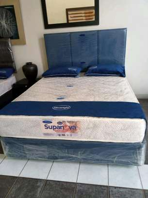 Bedset with spring  supanova mattress image 2