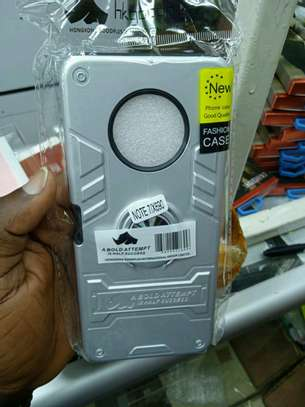 infinix note 7 Armored back covers Offer(with delivery) image 1