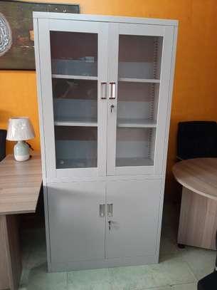 2 Door Metallic Office Cabinet