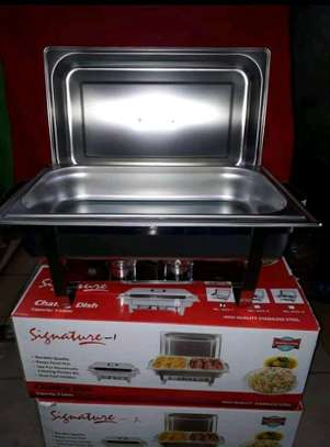 Signature chaffing dishes/cheffing dishes/food warmers