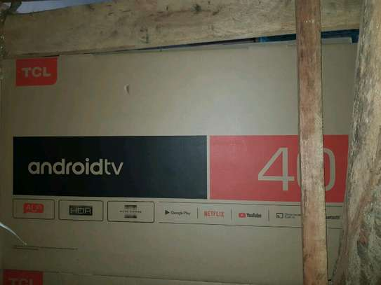 40 TCL Android smart tv