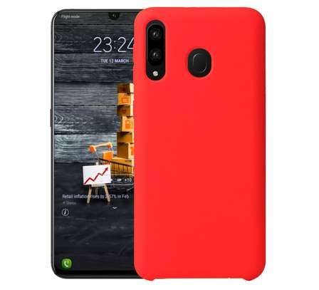Silicone case with Soft Touch for Samsung M30 M20 M10 image 6