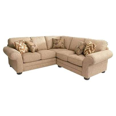 Stylish Contemporary Quality 6 Seater Sectional Sofa image 1