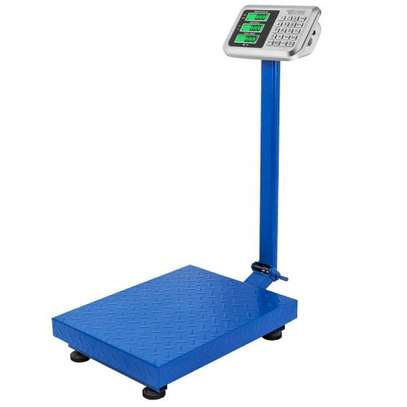 300kg HIGH PRECISION DIGITAL ELECTRONIC Weight Price Platform Scale Rechargeable image 1