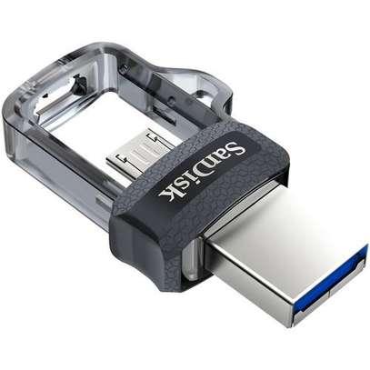 SanDisk 16GB Ultra Dual m3.0 USB 3.0 OTG Flash Disk Drive image 1