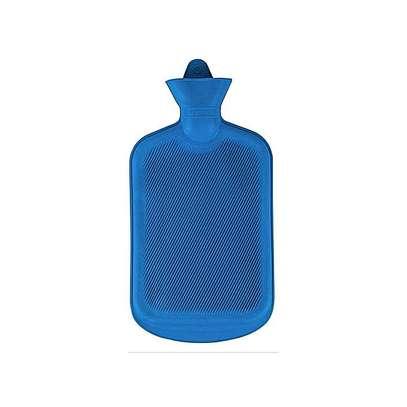 Hot water bottle blue image 1