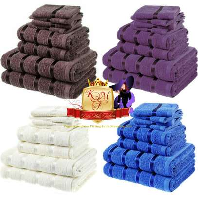 Luxury 8 Piece Bale Set 100% Egyptian Towels image 1