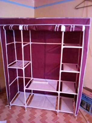 Portable wooden wardrobes image 3