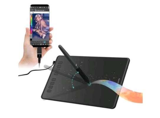HUION H950P Graphics Pen Tablet with Battery-Free Pen & Tilt image 10