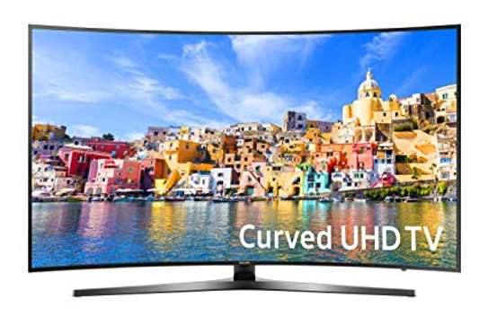 "Samsung 49"" 4K Curved UHD Smart LED TV image 1"