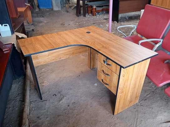 L -shaped  Office desks 5.5ft*4ft*2ft image 1
