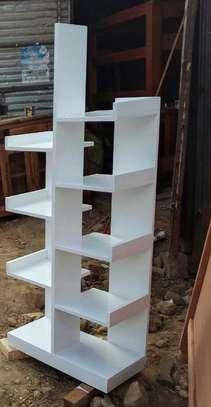 Wooden bookshelves image 2