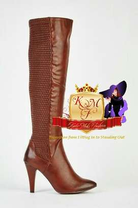 Knee Length Boots Made in U.K image 4