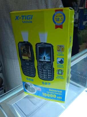 Xtigi S23 New 10000mAh battery- Dual Sim with Torch(Powerbank mode) image 2