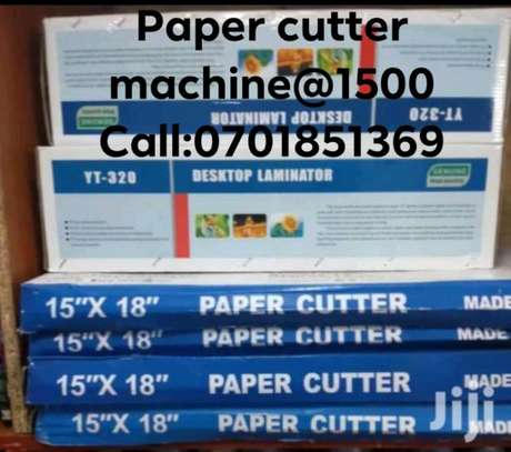 A4 /A3 paper cutting machine image 1