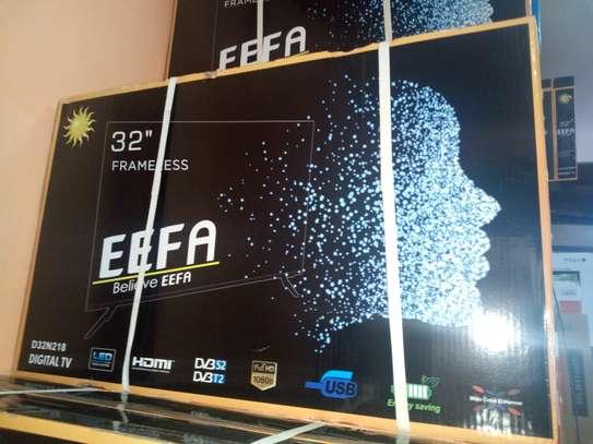 """Eefa 32 """" frameless digital led TV"""