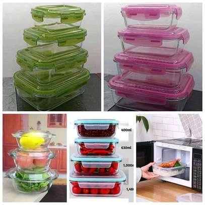 Fridge containers /glasswares fridge container