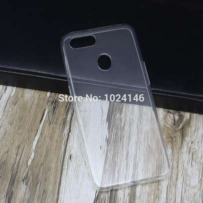 Clear TPU Soft Transparent case for Oppo F9 F9 Pro image 7