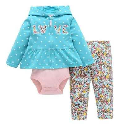 3pc 3 - 18months Girl Outfit