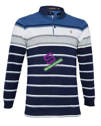 Long Sleeved Polo T-Shirts