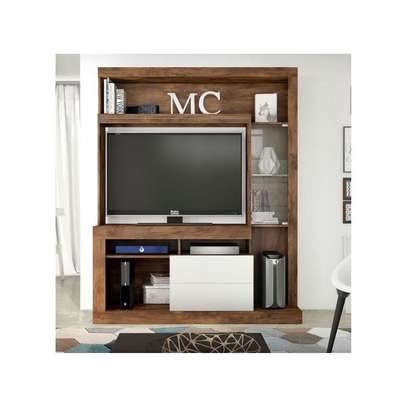 TV Wall Unit Rack ( Entertainment Unit Siberian ) -  for up to 46 inch TV image 4