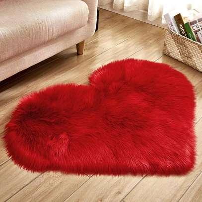 Love heart door Mat image 1