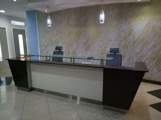 3.2 m long Reception desk for 2 users image 2