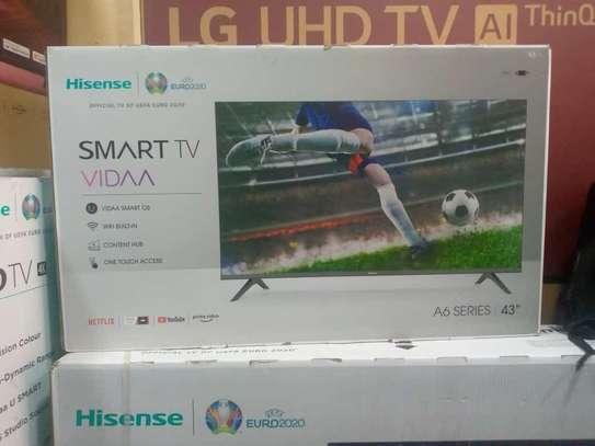 43 inch hisense frameless  smart tv image 1