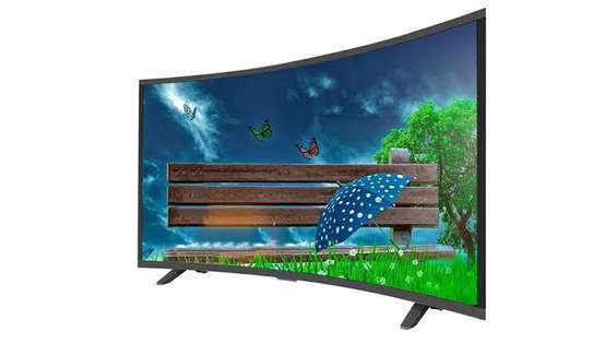Vision 43 inches Smart Curved Digital TVs image 1