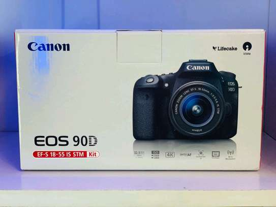 Canon 90D with 18-55mm lens image 1