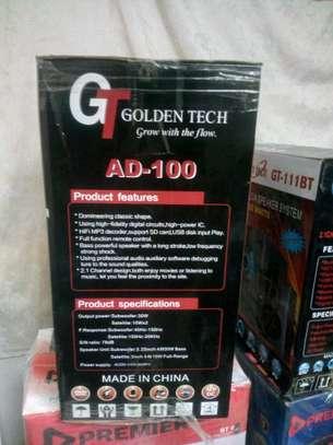 Golden Tech AD-100 2.1CH Multimedia Speaker System image 2