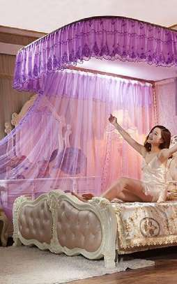 Classy Two Stand Mosquito Net image 1